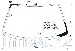 Стекло лобовое в клей Мазда 626 /CAPELLA/CRONOS/ 4D SED 92-97