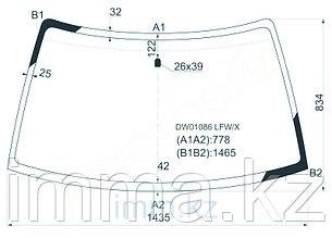 Стекло лобовое в клей FORD ESCORT USA 4D SED 3/5D HB 91-96