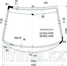 Стекло лобовое в клей Фольксваген GALAXY/SHARAN/ALHAMB 5D WAGON 95-