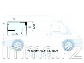 Стекло кузова среднее  правое цельное FORD TRANSIT VAN 2000-