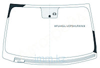 Стекло лобовое с обогревом щеток в клей HYUNDAI AZERA/GRANDEUR SEDAN 2011-