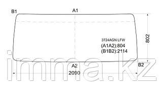Стекло лобовое в резинку IVECO TURBOSTAR F170-190/CM170/CM190`77-