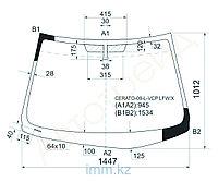 Стекло лобовое в клей KIA FORTE/CERATO 09- 4D