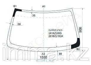Стекло лобовое в клей KIA CLARUS/CREDOS 4D SEDAN 97