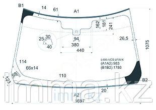 Стекло лобовое в клей RANGE ROVER L405 5D SUV 13-