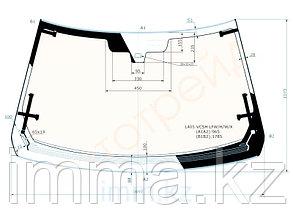Стекло лобовое с обогревом в клей RANGE ROVER L405 5D SUV 13-