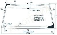 Стекло лобовое в клей Тойота LAND CRUISER/LEXUS LX470 98-07