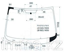 Стекло лобовое в клей Мазда CX-9 4 DOOR UTILITY 2007-
