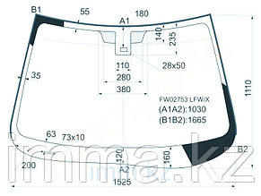Стекло лобовое в клей Мазда CX-9 4D UTILITY 2007- д.д.