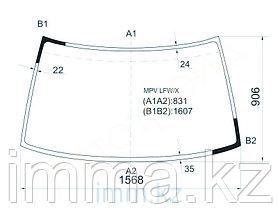 Стекло лобовое в клей Мазда MPV 5-DOOR WAGON 90-99