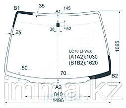 Стекло лобовое в клей Мазда MPV MINI VAN 2000-