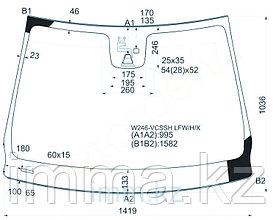 Стекло лобовое в клей мерседес BENZ B-CLASS W246 2012- 5D