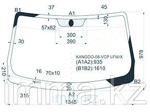 Стекло лобовое в клей RENAULT KANGOO II 2007-