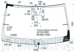 Стекло лобовое с обогревом щеток в клей мерседес GL/ML-CLASS W166 2012-
