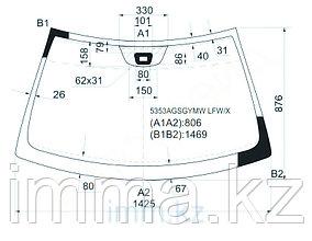 Стекло лобовое в клей мерседес-BENZ CLK-CLASS C209 02- 2D CPE