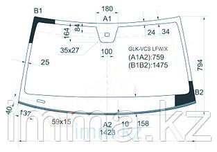 Стекло лобовое в клей мерседес-BENZ GLK-CLASS X204 08-