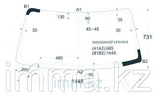 Стекло лобовое с обогревом в клей Митсубиси CHALLENGER/PAJERO SPORT/L200 96-08
