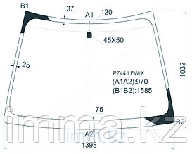 Стекло лобовое в клей Митсубиси COLT NEW 5D HB 2002-