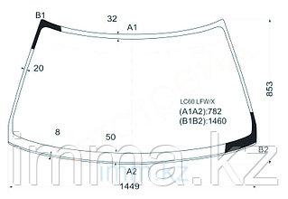 Стекло лобовое в клей Митсубиси MIRAGE/LANCER 4D SEDAN 88-92