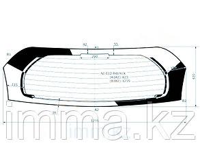 Стекло заднее (крышка багажника) с обогревом  Ниссан NOTE 5D HBK 2013-