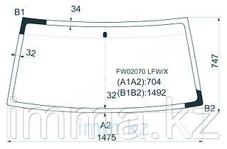 Стекло лобовое в клей NI DATSUN 88-96/FRONTIER/NAVARA 97-05/XTERRA 00-05