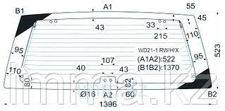 Стекло заднее (крышка багажника) с обогревом Ниссан TERRANO/PATHFIDER 89-95 3/5D