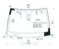 Стекло лобовое в клей OPEL ASTRA GTC 3D HBK 2005- (молдинг)