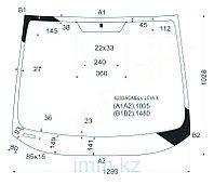 Стекло лобовое в клей OPEL ZAFIRA/SUBARU TRAVIQ 98-04