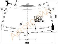 Стекло лобовое в клей Тойота CRESTA SEDAN 4-DOOR 88-92