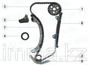Комплект для замены цепи ГРМ DAIHATSU/Тойота K3VE (полный) 99-