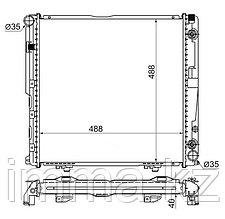 Радиатор мерседес E-CLASS W124 2.0/2.2 92-95
