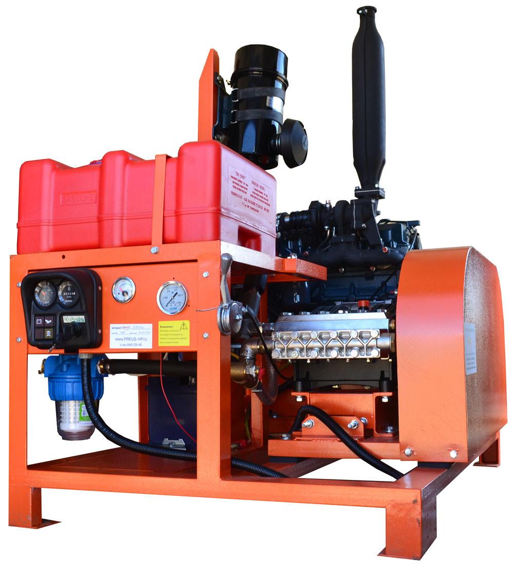 Водоструйный аппарат высокого давления ПРЕУС Д5030КР