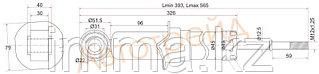 Стекло переднее правое опускное Митсубиси CHARIOT/SPACE WAGON 91-97/HYUNDAI SANTAMO 98-03 CZ65 FD/RH