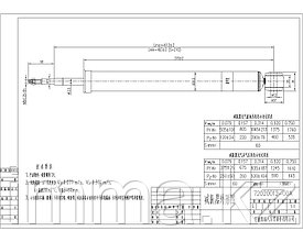 Амортизатор задний FORD FOCUS 98-05 LH=RH