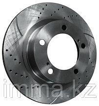 Комплект дисков тормозных FR перфорировонные Тойота LCR200 / LEXUS LX570,  07-