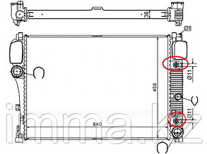 Радиатор мерседес S-CLASS W221//CL-CLASS W216 06-