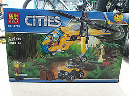 Конструктор Bela Cities 10709 216 pcs. Урбан. Сити