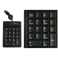 Клавиатура проводная NumLock V-T USNK0018 USB 18 кнопок, силиконовая, водонепроницаемая
