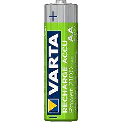 Заряжаемые Аккумуляторные Батарейки VARTA Power (AA) 2100 mAh (блистер)