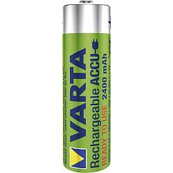 Заряжаемые Аккумуляторные Батарейки VARTA Toys (AA) 2400 mAh (блистер)