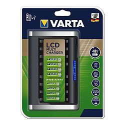 Зарядное устройство на 8 батареек LCD Multi Charger VARTA