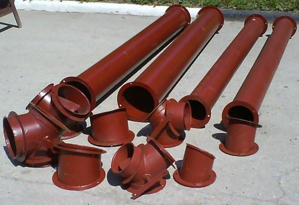 Комплект зернопроводов ЗАВ-40