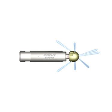 Форсунка роторная Banshee BN9,5 для теплообменных труб