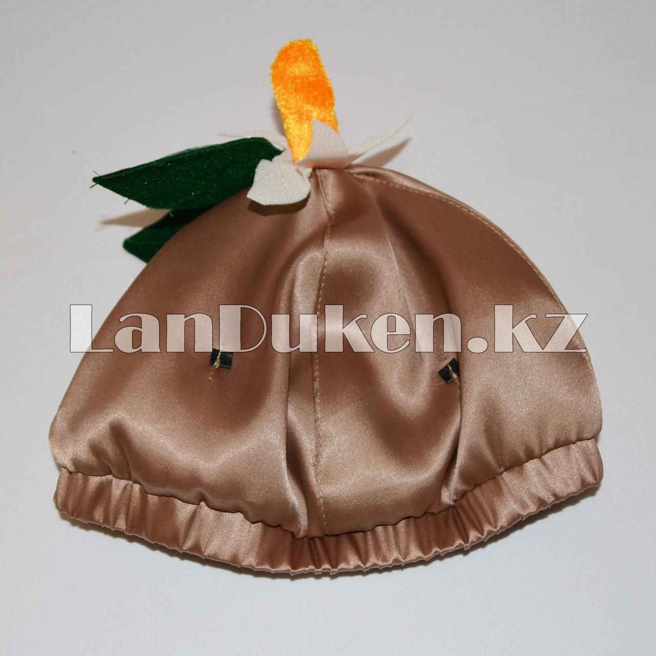 Карнавальный костюм детский овощи и фрукты 24-34р (картофель) - фото 8
