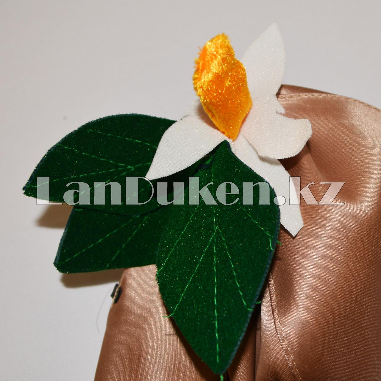 Карнавальный костюм детский овощи и фрукты 24-34р (картофель) - фото 9