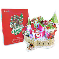 Cubic Fun Сказочный рождественский замок ( с подсветкой )