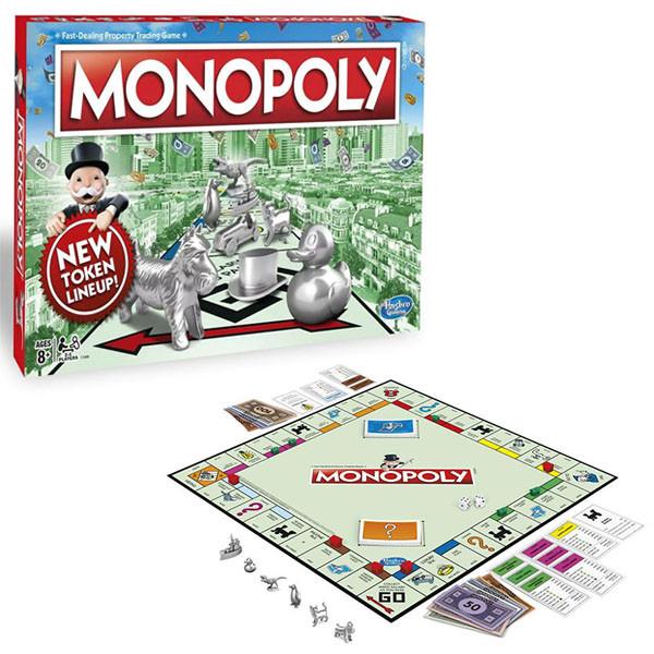 Игрушка Games классическая Монополия. Обновленная