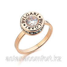 Стильное женское кольцо Bvlgari.