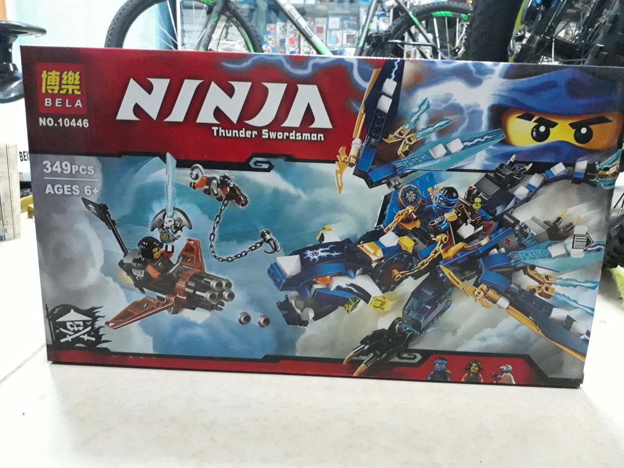 Конструктор Bela Ninja 10446 349 pcs. Ниндзя. Нинджаго
