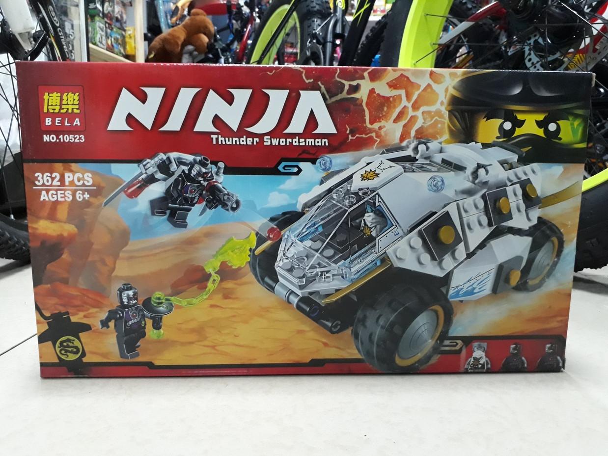 Конструктор Bela Ninja 10523 362 pcs. Ниндзя. Нинджаго.